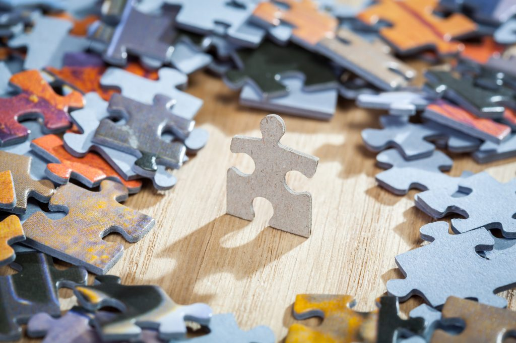 Puzzle spiritualité médium